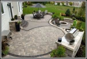 raised paver patio pictures patios home decorating