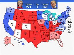 2016 presidential election predictions map autos post