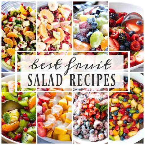 best salad recipes best fruit salad recipes a dash of sanity