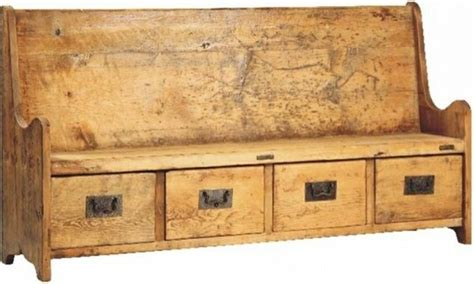 travis bench travis old reclaimed wood bench with four drawers eclectic accent and storage