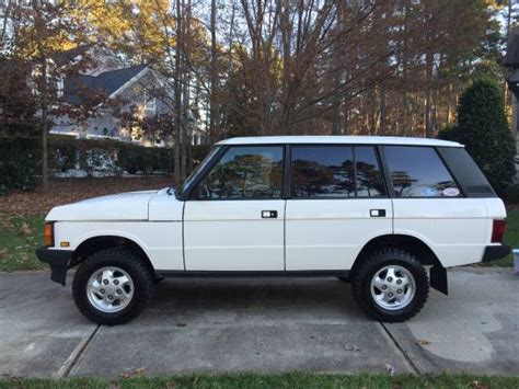 what country is range rover from 1995 range rover county lwb great find the fast car