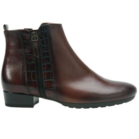 gabor rundle womens casual ankle boots gabor from