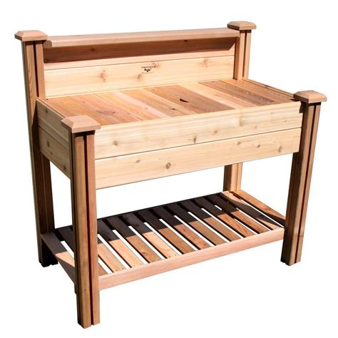 potting benches home depot gronomics 24 in x 48 in x 48 in potting bench with