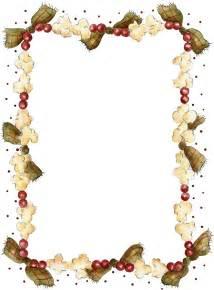 Country Kitchen Dog Treats - popcorn border printable christmas recipe page printables borders amp frames pinterest