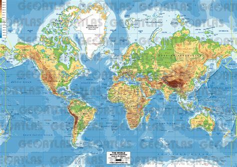 mercator map projection geoatlas world maps mercator projection map city