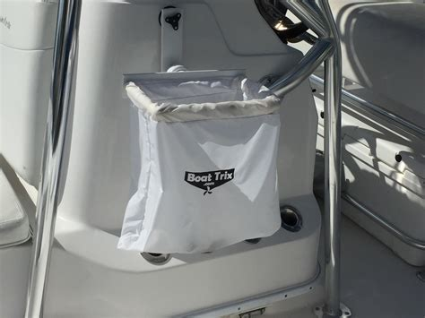 boat trash bag holder boat trash bag with suction cup mount bar