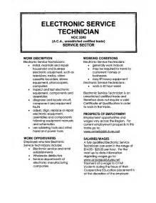 Field Service Technician Resume Sample field service technician resume sample field service technician
