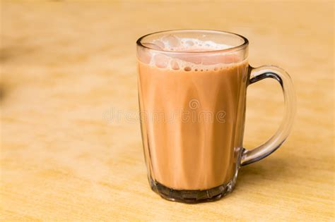 Teh Tarik Malaysia tea with milk or popularly known as teh tarik in malaysia