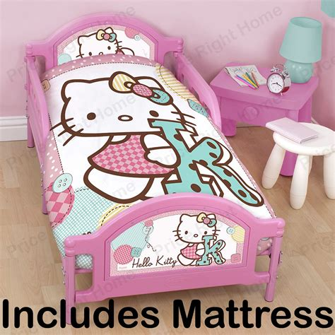 hello kitty toddler bed hello kitty toddler bed mattress new ebay
