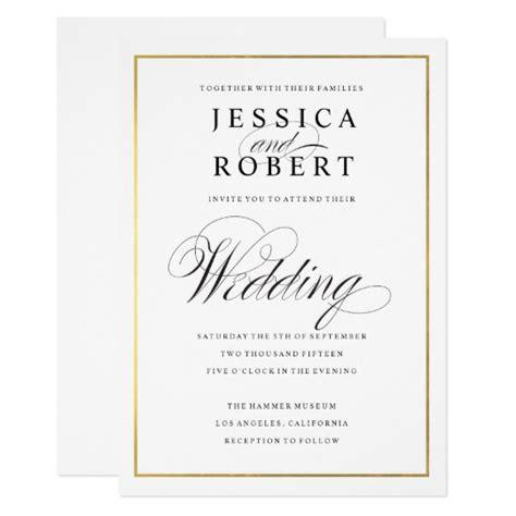 wedding golden border gold border wedding invitations yourweek 6aa6c3eca25e