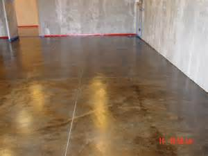 stained concrete in basement stained concrete for basement for the home