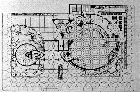 guggenheim floor plan ground floor plan of the guggenheim museum in 1948 new
