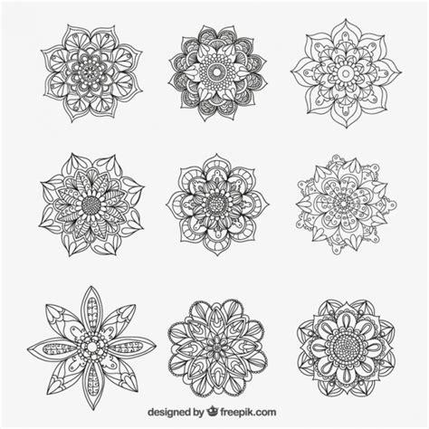 pattern mandala vector mandalas collection vector premium download