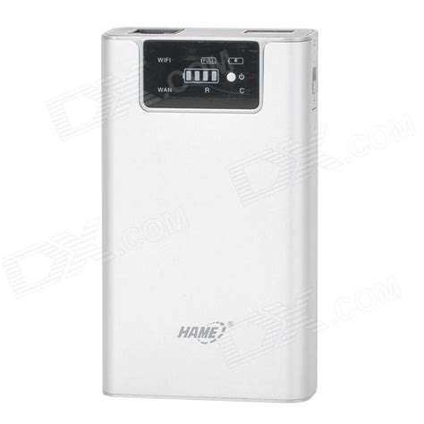 Hame F1 3g Mobile Power Router Power Bank 7800mah Repeater Bagus buy hame f1 3 in 1 wireless 3g router wi fi adapter 7800mah mobile power bank silvery white