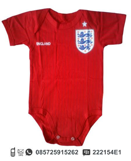 Baju Jersey Sepak Bola Baby Jumper Baju Kodok Motif Jersey Sepak Bola