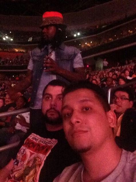 wale dc wale confronts twitter troll at wwe event in washington d