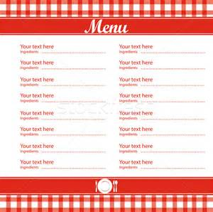 5 best images of free blank printable template restaurant
