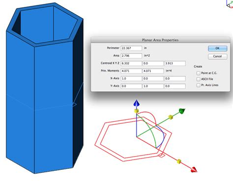 Calculate Section Properties by Punchcad Shark Attack