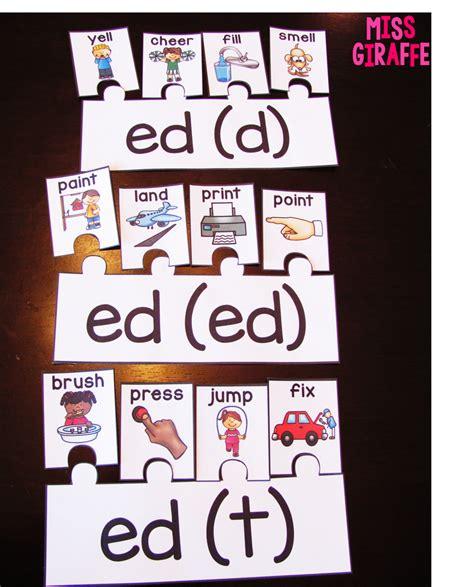ed pattern words miss giraffe s class prefixes and suffixes teaching ideas