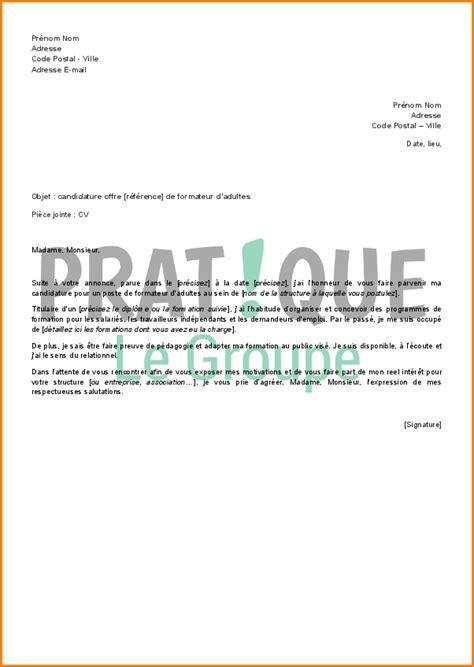 Lettre De Motivation De Barman 8 Lettre De Motivation R 233 Ponse 224 Une Offre D Emploi Exemple Lettres