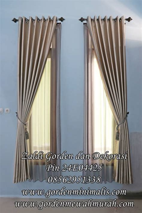 150x100 Gorden Poni Jendela Pintu harga dan model gorden rumah minimalis terbaru bahan