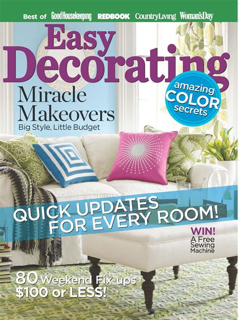 home decor magazines list easy decorating savvy entertaining