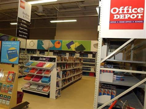 Office Depot News by Office Depot Officemax In Merger Talks To Compete With