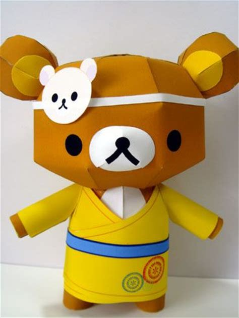 rilakkuma origami 379 best images about papercraft characters on