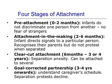 1000 images about attachment theory on pinterest assessment infants and a child