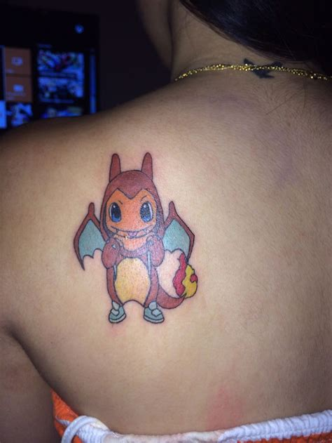 small pokemon tattoos charmander tattoos charmander