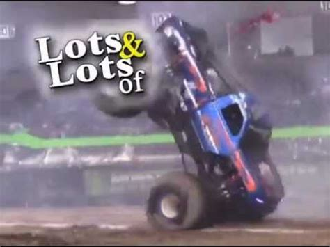youtube monster truck racing monster trucks best crashes rollovers donuts racing