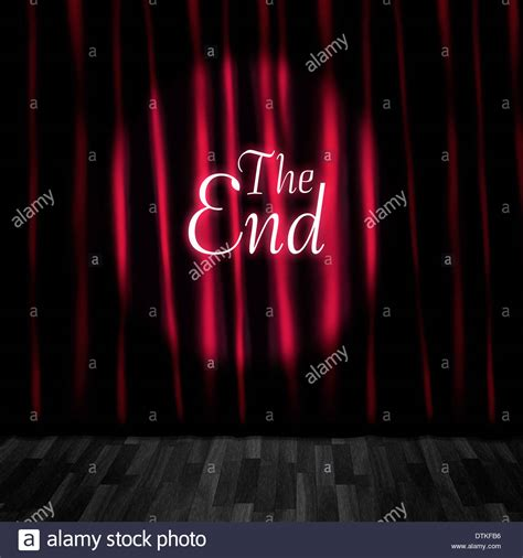 movie curtain call theatre curtain close or stage curtain call in a depiction