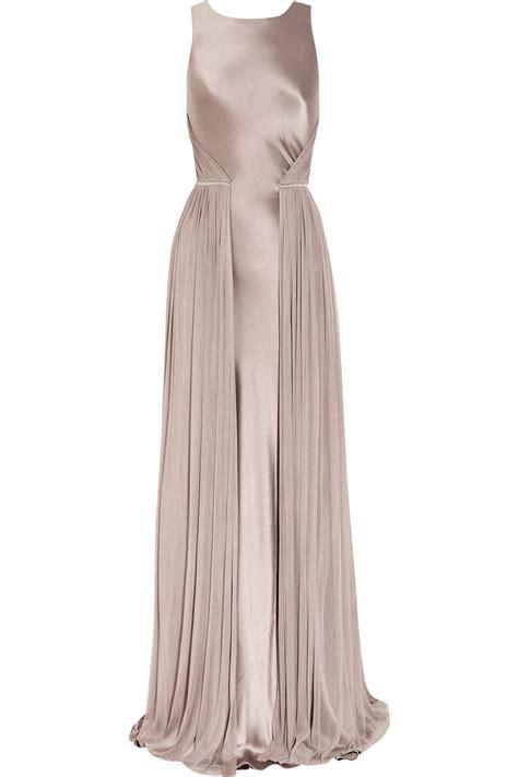 Amanda Overall Skirt s purple silksatin and mesh gown healthy stuff
