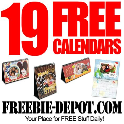 fully desk coupon code 19 free 2014 photo calendars from artscow com freebie depot