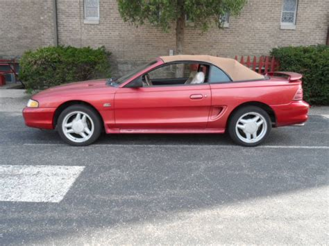 1995 convertible mustang 1995 ford mustang gt convertible 5 0l for sale