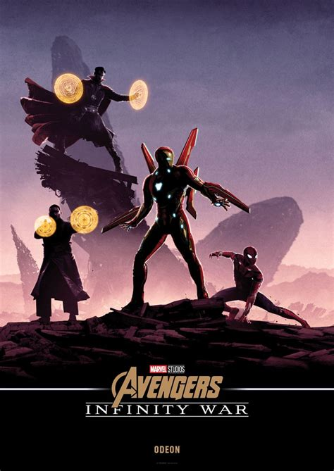 artist matt ferguson does an awesome poster for drive this awesome series of avengers infinity war poster art