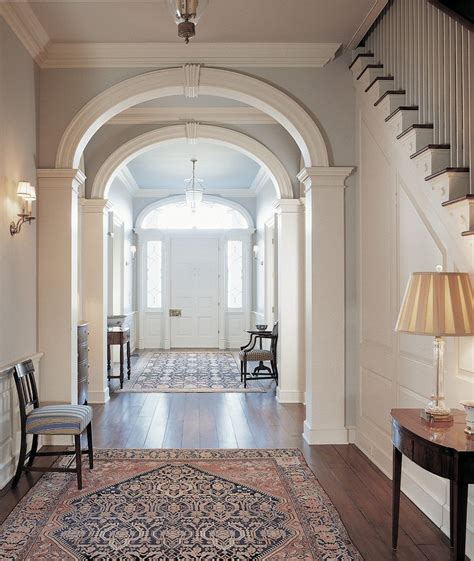 interior arch design living room traditional with arch
