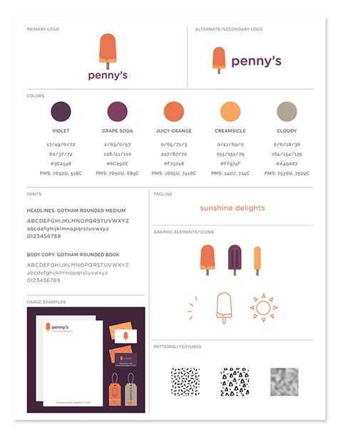 Brand Style Guide Template Freebie Brand Style Guide Template Every Tuesday