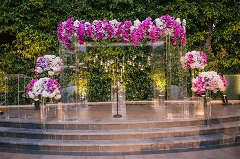 Wedding Ceremony Structure by Wedding Planning 13 Acrylic And Lucite Wedding D 233 Cor