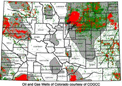 colorado and gas map colorado city and county codes and materials related to