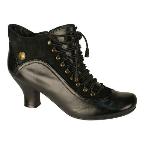 hush puppies vivianna s black leather boots free