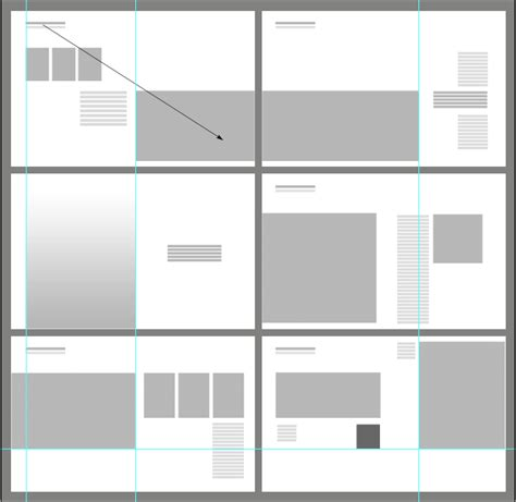 Graphic Layout Diagram For 6 Spreads Notice Full Bleed   graphic layout diagram for 6 spreads notice full bleed