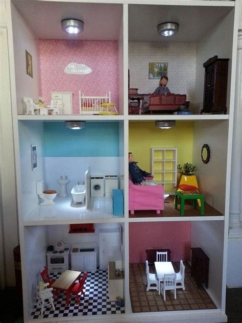 best 25 dollhouse bookcase ideas on