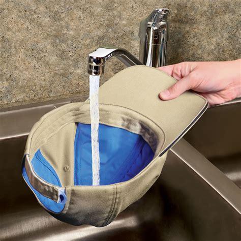 the evaporative cooling cap hammacher schlemmer