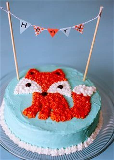 ideas  fox cake  pinterest racing cake woodland cake  cakes