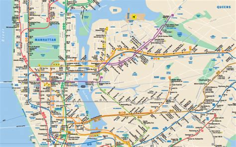 mta maps nyc subway map pdf my