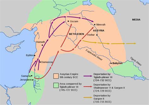 exle of trade assyrian captivity