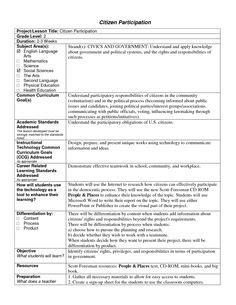 florida lesson plan template for my lesson plans classroom ideas
