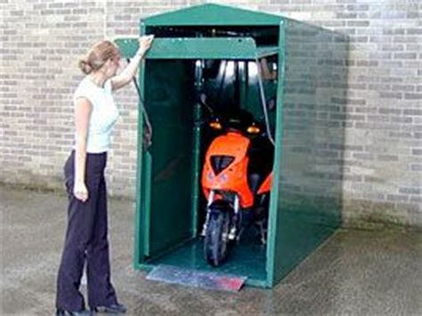 Motorbike Lock Up Shed by Bike Store Motorcycles And Motorbikes On
