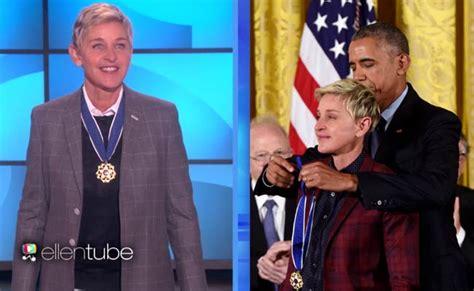 ellen white house ellen degeneres shares wonderful story of her day at white house click ittefaq
